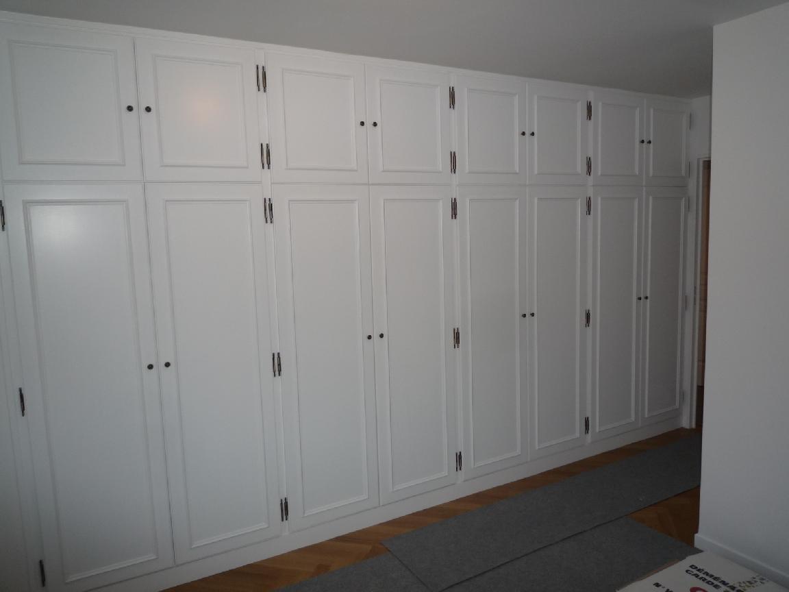 Menuiserie clenet ma tre artisan garantie qualibat rge for Peindre des portes de placard