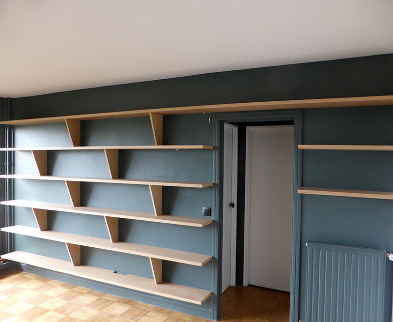 menuiserie clenet ma tre artisan garantie qualibat rge chatou yvelines biblioth que. Black Bedroom Furniture Sets. Home Design Ideas